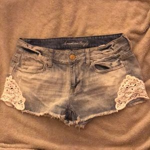 American eagle lace shorts for sale size 4